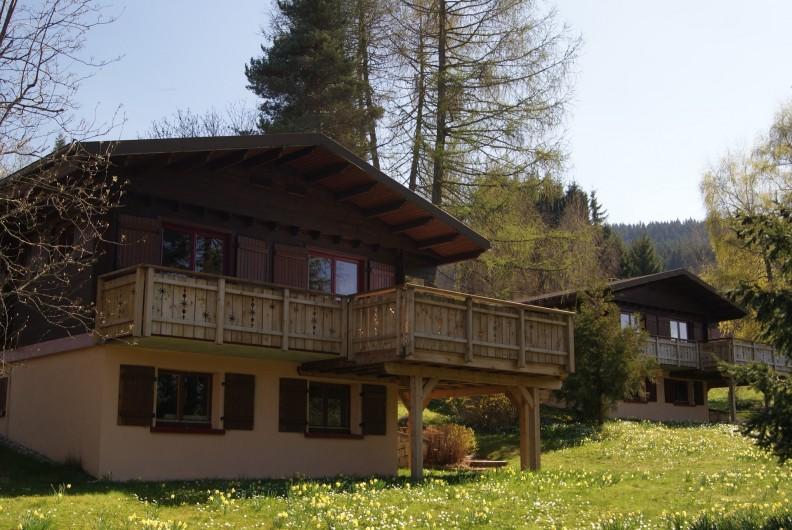 Location de vacances - Chalet à Xonrupt-Longemer - 3 chalets identiques sur le même terrain.