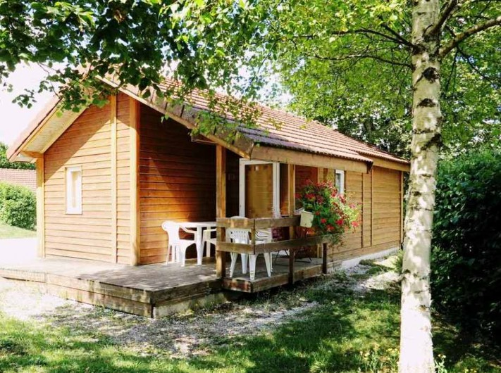 Location de vacances - Chalet à Saint-Laurent-en-Grandvaux - Location chalet 35m2  4 pers.