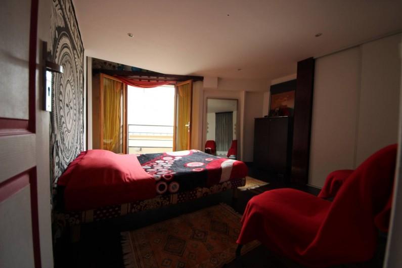 Location de vacances - Villa à Aubervilliers - Chambre 2 lit double