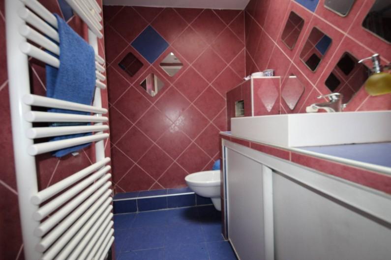 Location de vacances - Villa à Aubervilliers - Salle de bain avec douche
