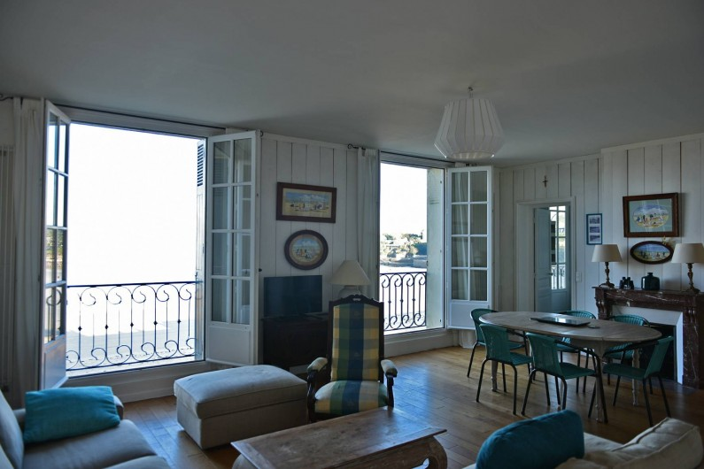 Location de vacances - Appartement à Dinard - salon