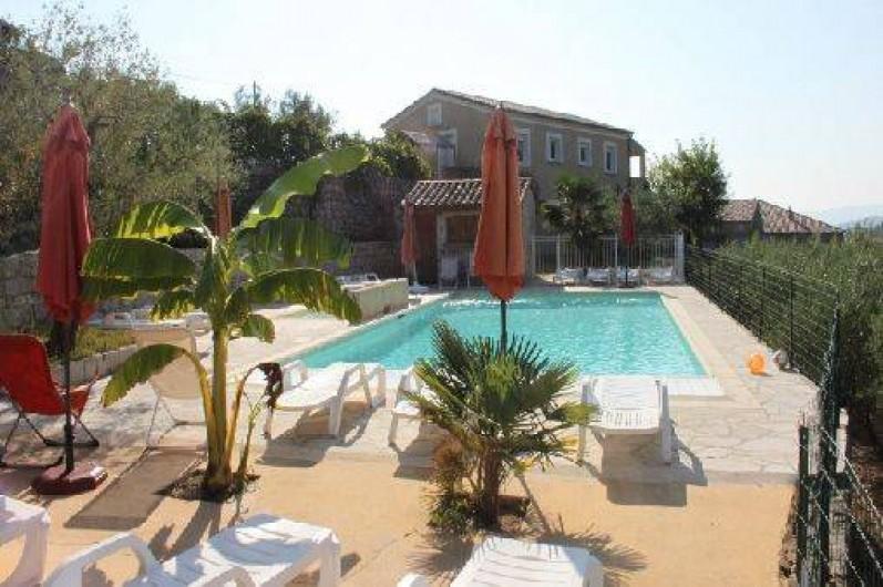 Location de vacances - Maison - Villa à Rosières - La piscine
