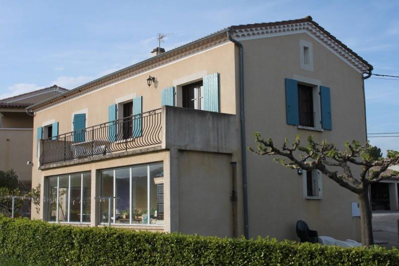 Location de vacances - Maison - Villa à Rosières - vue sud