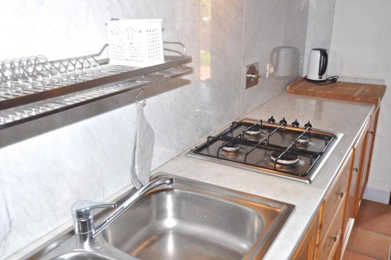 "Location de vacances - Appartement à Castiglione del Lago - Coin cuisine app. ""Mercurio"""