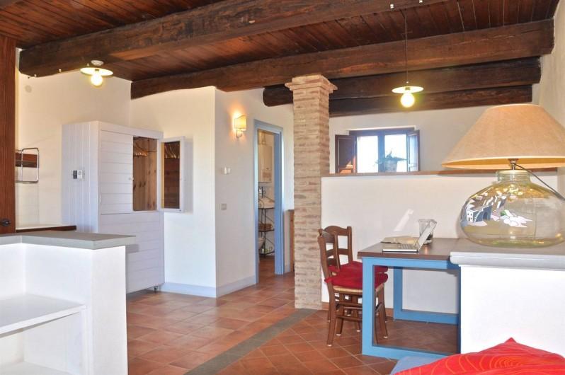 "Location de vacances - Appartement à Castiglione del Lago - Séjour app. ""Saturno"""