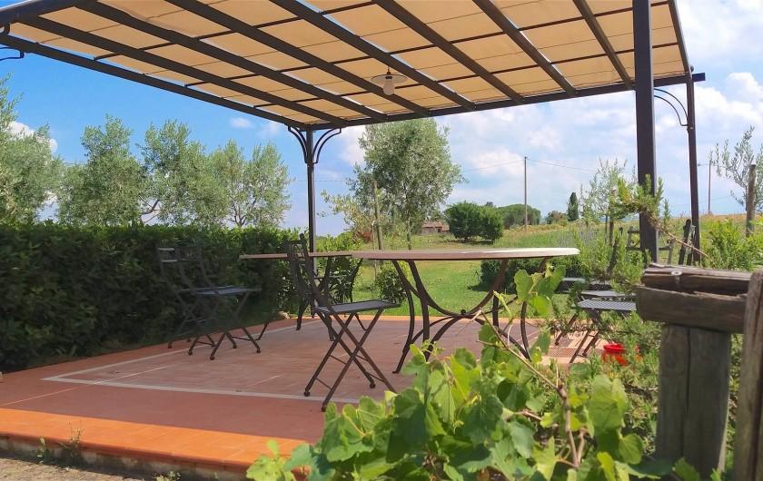 Location de vacances - Appartement à Castiglione del Lago - Le jardin