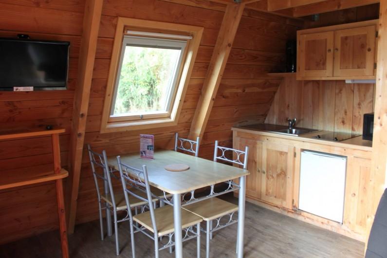 Location de vacances - Insolite à Hermival-les-Vaux - Pièce de vie Zoobservatoires