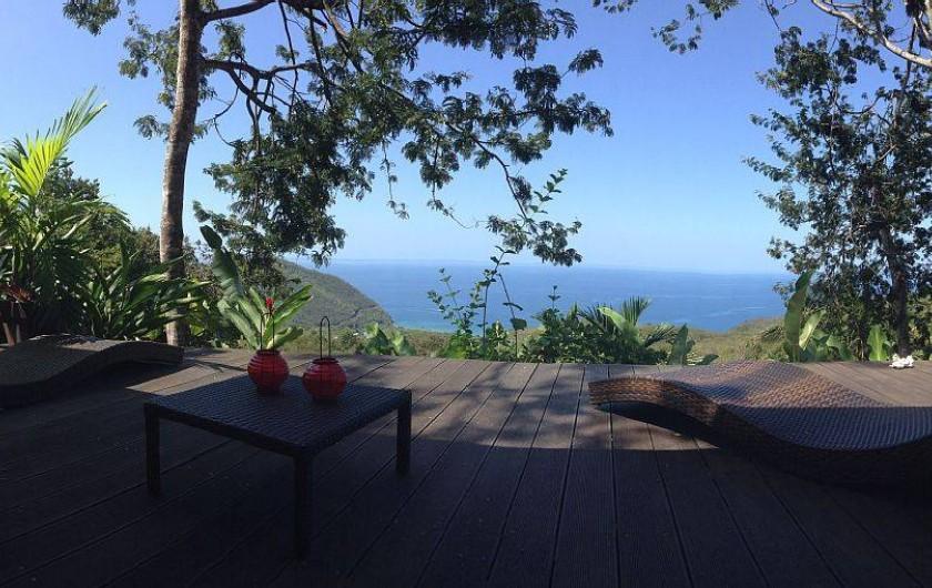 Location de vacances - Gîte à Pointe Noire - Vue de la terrasse