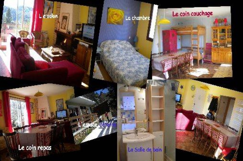 Location de vacances - Appartement à Laveissière