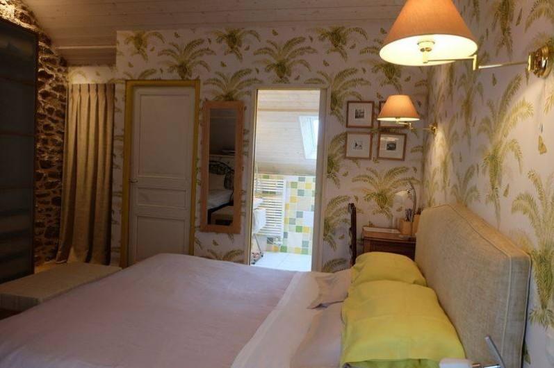 Location de vacances - Chambre d'hôtes à La Richardais - La chambre Tatihou