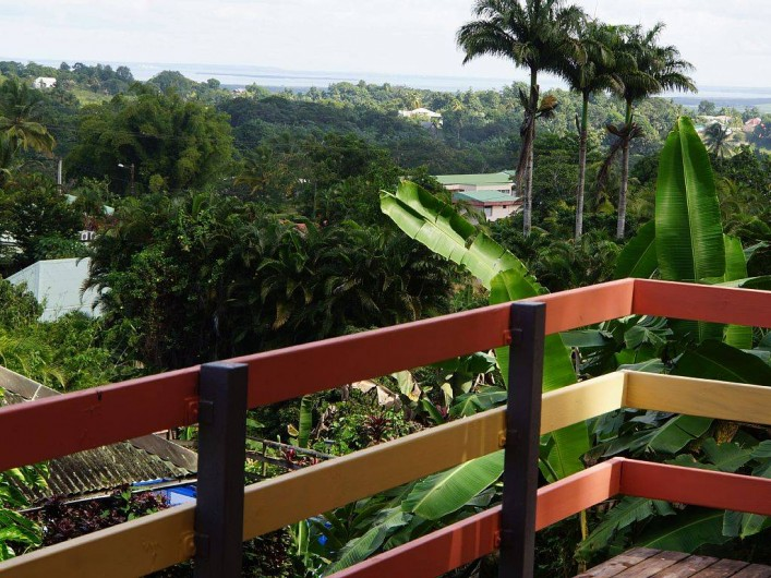 Location de vacances - Gîte à Sainte Rose - Gîte Bois d'Inde