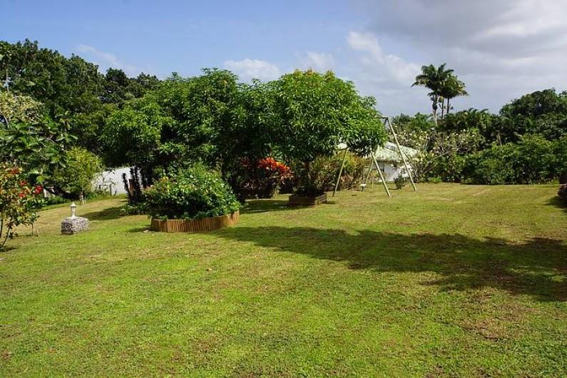 Location de vacances - Gîte à Sainte Rose - Jardin