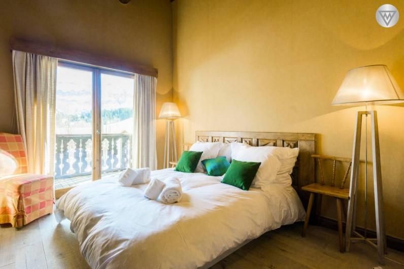 Location de vacances - Appartement à Megève - Chambre 4