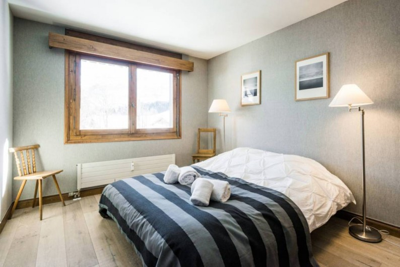 Location de vacances - Appartement à Megève - Chambre 1