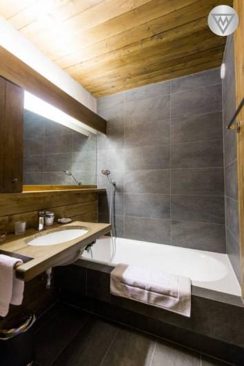 Location de vacances - Appartement à Megève - Salle de bains