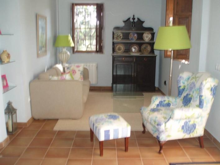 Location de vacances - Villa à Xàtiva - Salon