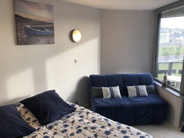 Location de vacances - Studio à Port-Deauville - Un vrai grand confortable de 160 vous attend