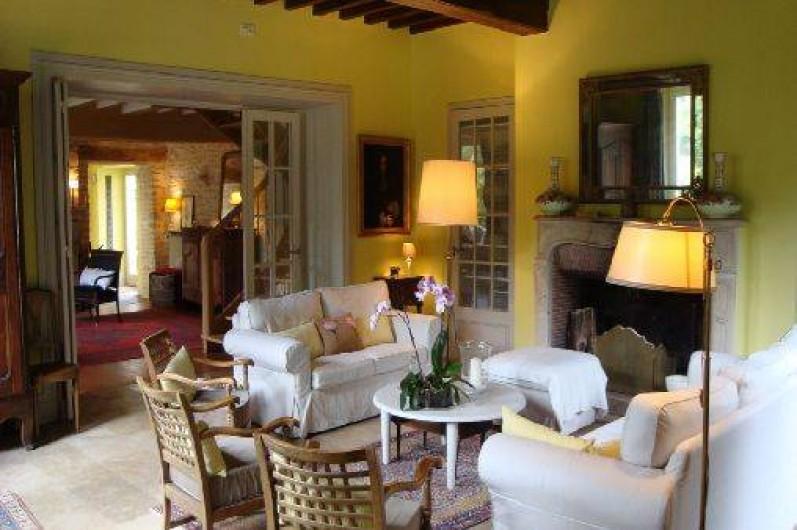 Location de vacances - Chambre d'hôtes à Joux-la-Ville - le salon
