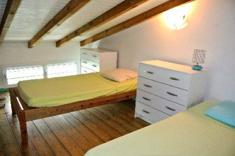 Location de vacances - Bungalow - Mobilhome à Sainte-Anne - Mezzanine 3*