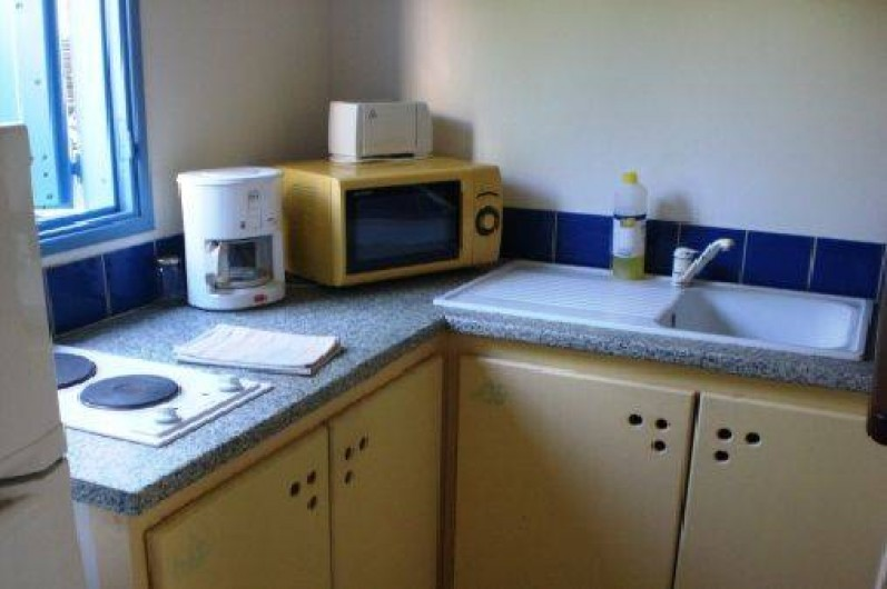 Location de vacances - Bungalow - Mobilhome à Sainte-Anne - Kitchenette 2*