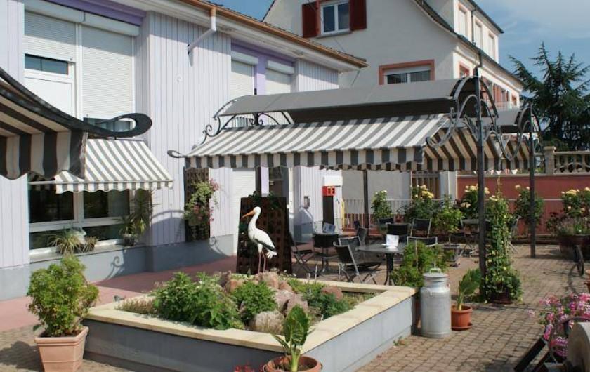 Location de vacances - Hôtel - Auberge à Ammerschwihr - EXTERIEUR DE L HOTEL