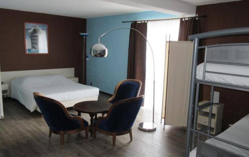 Location de vacances - Hôtel - Auberge à Ammerschwihr - CHAMBRE QUADRUPLE