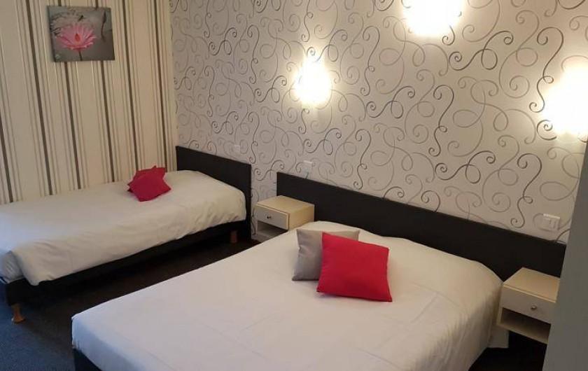 Location de vacances - Hôtel - Auberge à Ammerschwihr - CHAMBRE TRIPLE