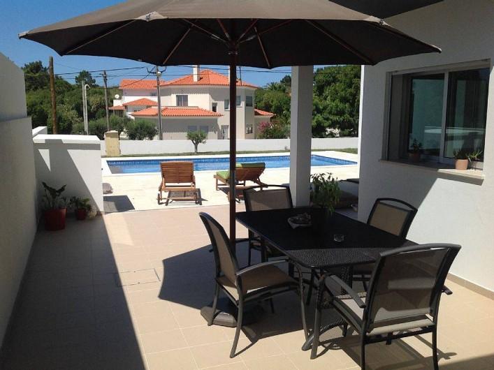 Location de vacances - Villa à São Martinho do Porto - Terrasse rez-de-jardin