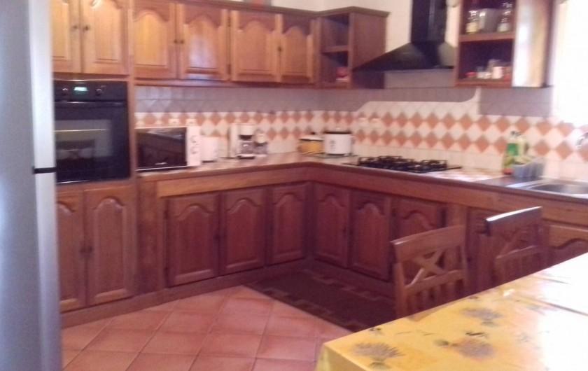 Location de vacances - Villa à La Plaine des Cafres - Une autre photo de la cuisine