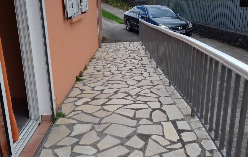 Location de vacances - Villa à La Plaine des Cafres - une rampe pour personne à mobilité réduite