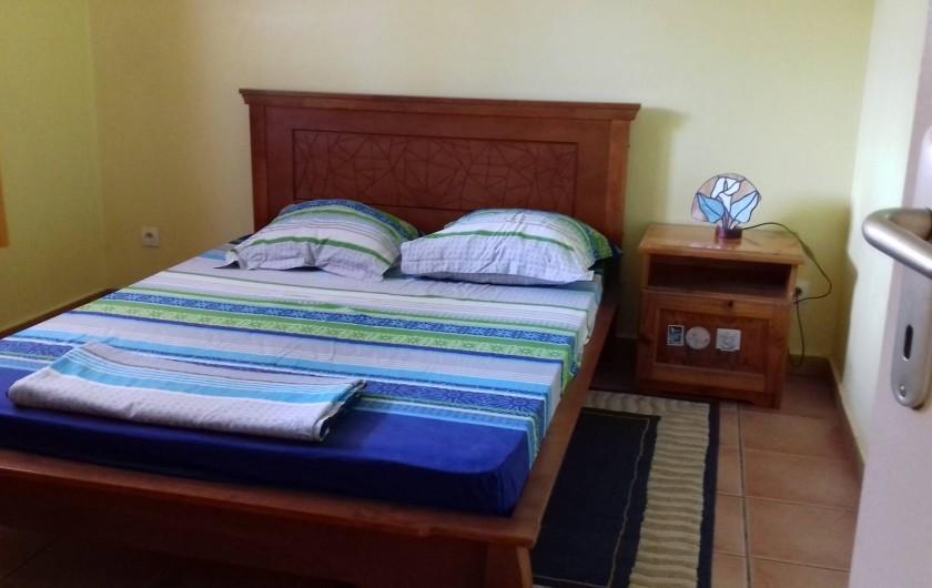 Location de vacances - Villa à La Plaine des Cafres - La première chambre