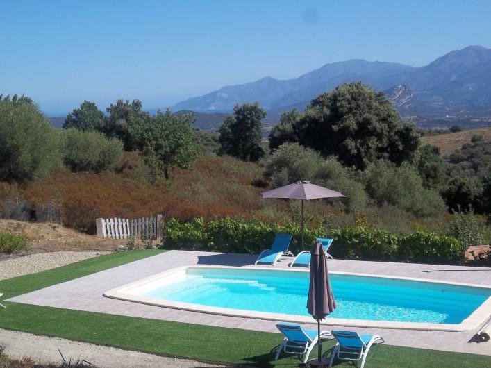 Location de vacances - Chambre d'hôtes à Rapale - Piscine