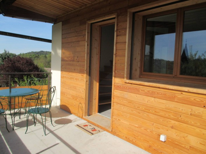 Location de vacances - Maison - Villa à Annecy - Gite n °3 Terrasse privative