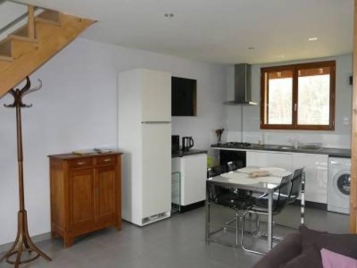 Location de vacances - Maison - Villa à Annecy - Gite n°3 Cuisine ouverte sur salon