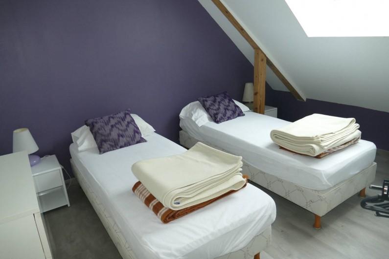Location de vacances - Maison - Villa à Annecy - Gite n° 2 2 lits simple pouvant se réunir