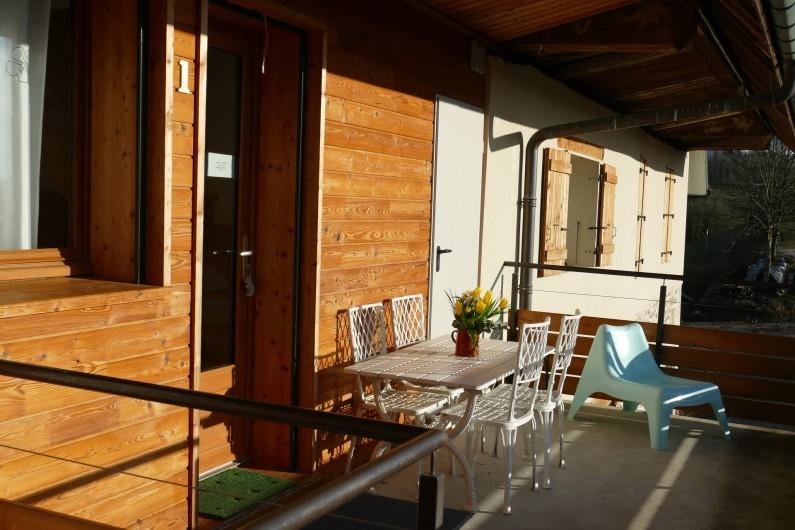 Location de vacances - Maison - Villa à Annecy - Gite n°1 Terrasse privative