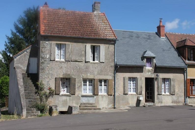 Location de vacances - Maison - Villa à La Collancelle - Les 2 maisons qui ne font  qu'une aujourd'hui !