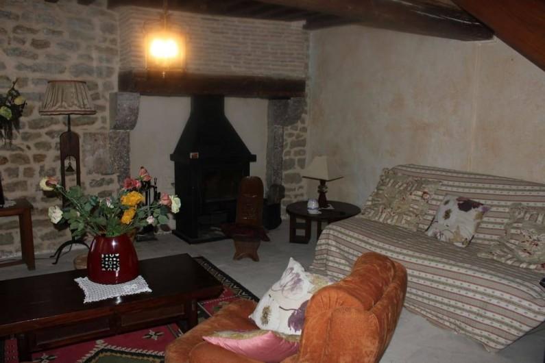 Location de vacances - Maison - Villa à La Collancelle - Salon
