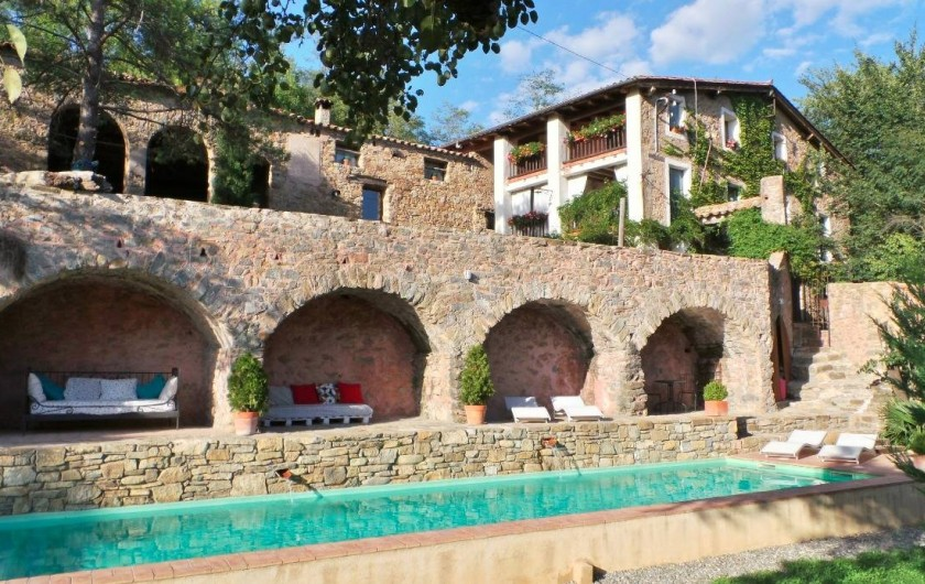 Location de vacances - Gîte à Sant Joan de les Abadesses - Le Mas