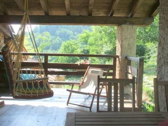 Location de vacances - Gîte à Sant Joan de les Abadesses - Porche Gîte