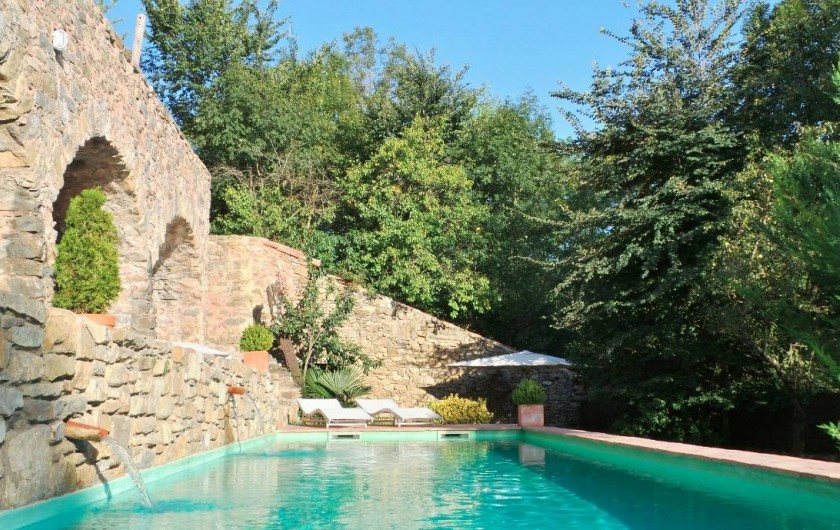 Location de vacances - Gîte à Sant Joan de les Abadesses - Piscine