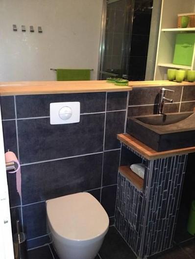 Location de vacances - Maison - Villa à Le Barcarès - salle de douche/lavabo/wc