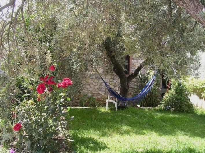 Location de vacances - Maison - Villa à Órgiva - Jardin y cesped
