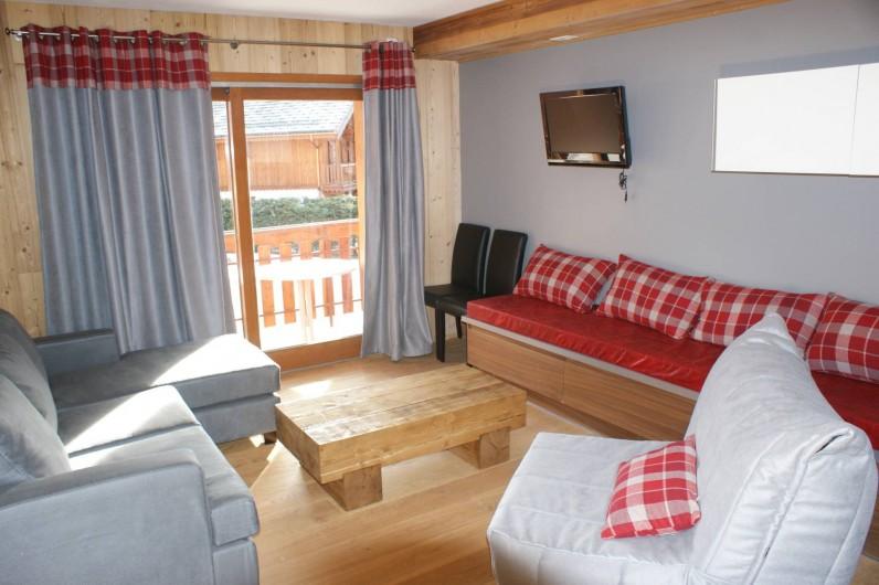 Location de vacances - Appartement à Saint-Martin-de-Belleville - Séjour