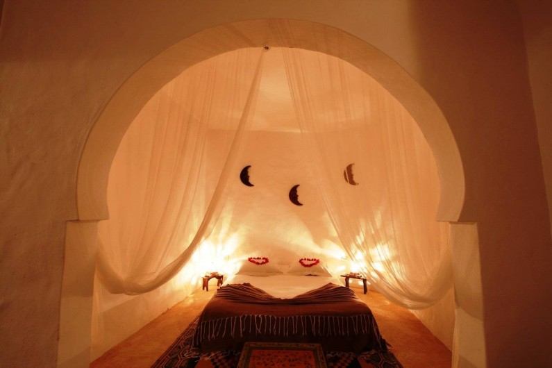 Location de vacances - Maison - Villa à Djerba - chambre alcôve