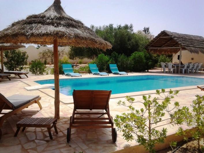 Location de vacances - Maison - Villa à Djerba - Piscine