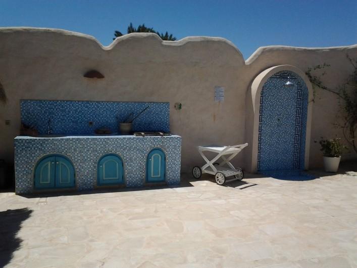 Location de vacances - Maison - Villa à Djerba - barbecue, douche