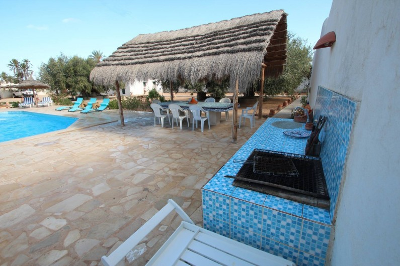 Location de vacances - Maison - Villa à Djerba - barbecue