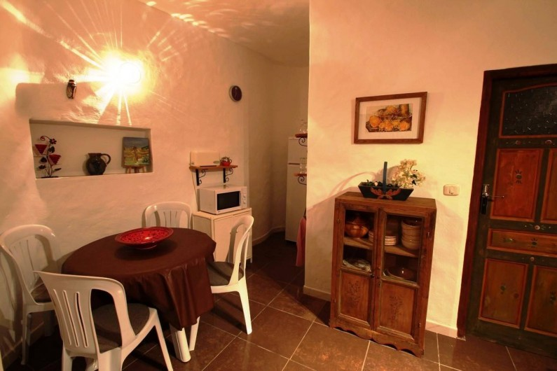 Location de vacances - Maison - Villa à Djerba - coin repas