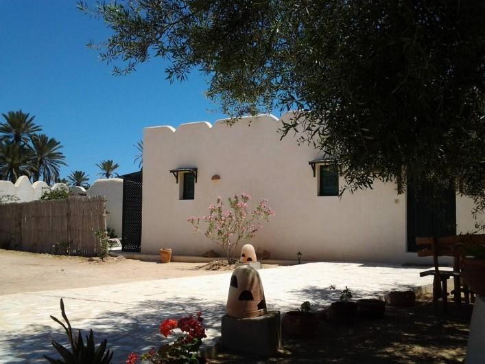 Location de vacances - Maison - Villa à Djerba - façade Doukana